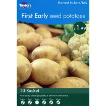 First Early Seed  Potatoes 10 Rocket