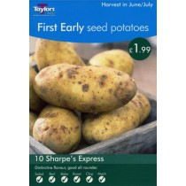 First Early Seed Potatoes  10 Sharpes Express