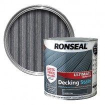 Charcoal Ronseal Ultimate Decking Stain 2.5L