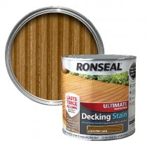 Country Oak - Ronseal Ultimate Decking Stain 2.5L