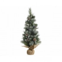 90cm Frosted Hard Needle Mini Artificial Tree