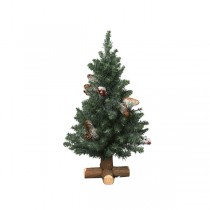 45cm Frosted Sherwood Mini Artificial Tree