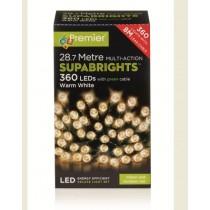360 Multi-Action Warm White Lights