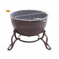Elidir Cast Iron Fire Bowl