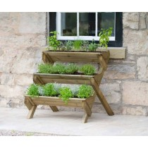 Stepped Herb Planter (Available In Store)