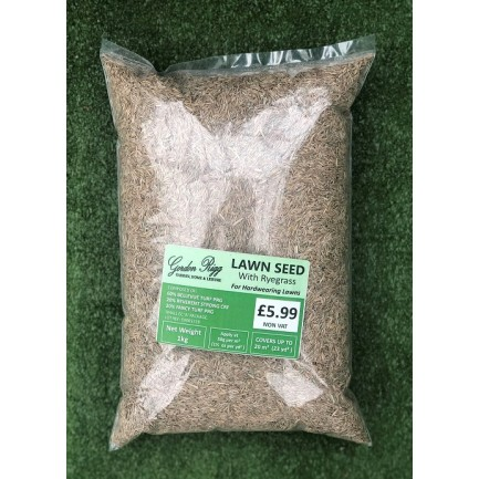 Gordon Rigg Grass Seed - With Ryegrass 1kg