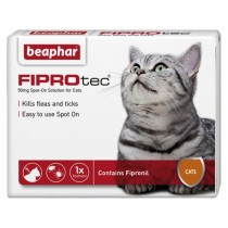 Beaphar FIPROtec Spot On Solution for Cats