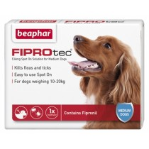Beaphar FIPROtec Spot on Solution for Medium Dogs