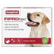 Beaphar FIPROtec Spot on Solution for Large Dogs 268mg