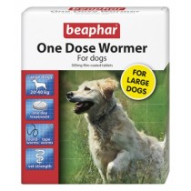 Beaphar One Dose Wormer Large Dogs 20-40kg