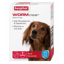 Beaphar WORMclear for Small Dogs Up To 20kg