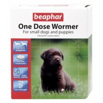 Beaphar One Dose Wormer - Sml Dog & Pup