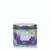 Lavendar & Bergormot   - The Scented Home Tin Candle
