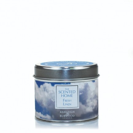 Fresh Linen - The Scented Home Tin Candle
