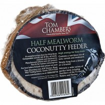 Tom Chambers Coconut Half With Mealworm