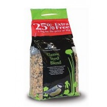 Tom Chambers Classic Seed Blend 2Kg with 25% Extra Free