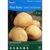 First Early Seed Potatoes 10 Foremost