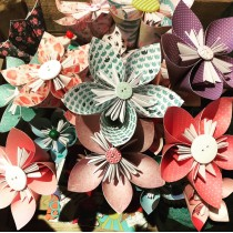 Origami Flower Workshop - Saturday 25th April