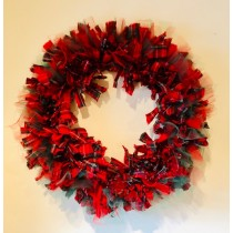 Christmas Textile Wreath Workshop - Saturday 2nd November