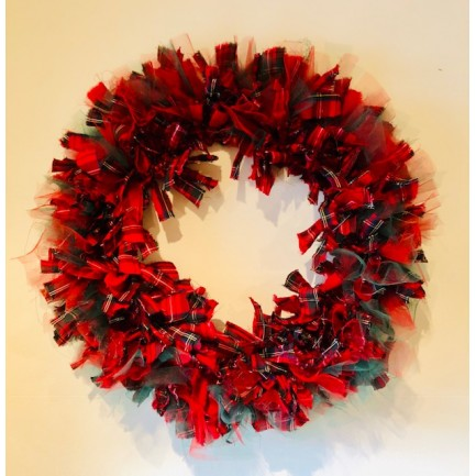 Christmas Textile Wreath Workshop - Saturday 2nd November