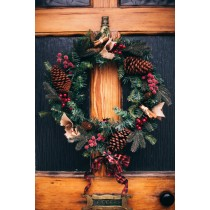 Christmas Wreath Making Day Workshop with Lunch - Tuesday 3rd December