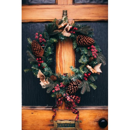 Christmas Wreath Making Day Workshop with Lunch - SOLD OUT - Tuesday 3rd December