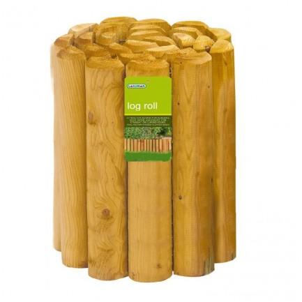 15cm  Natural Edging Log Roll