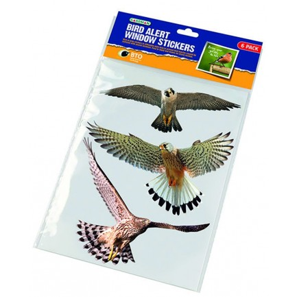 Bird Alert Window Stickers