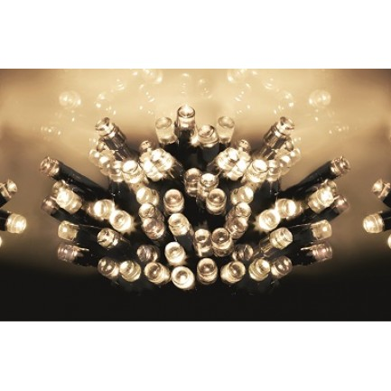 200 Warm White Multi-Action Supabrights LED Lights