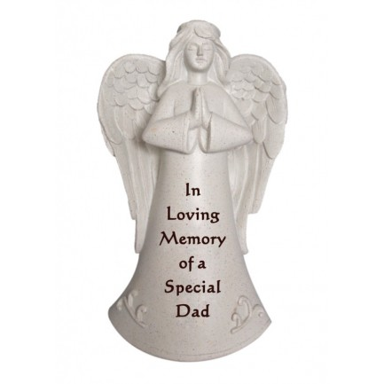 Special Dad Praying Angel Memorial Statue