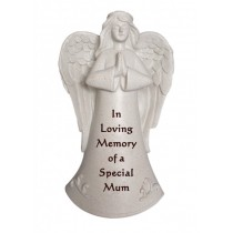 Special Mum Praying Angel Memorial Statue