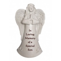 Special Son Praying Angel Memorial Statue