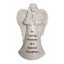 Special Daughter Praying Angel Memorial Statue