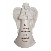 Special Sister Praying Angel Memorial Statue