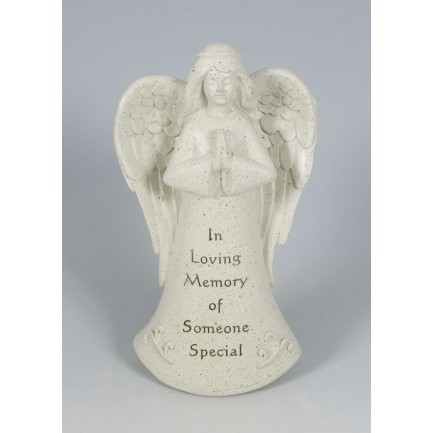 Someone Special Praying Angel Memorial Statue