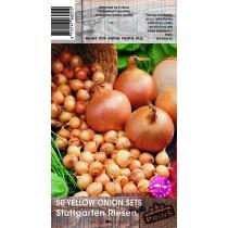 50 Yellow Onion Sets Stuttgarter Riesen