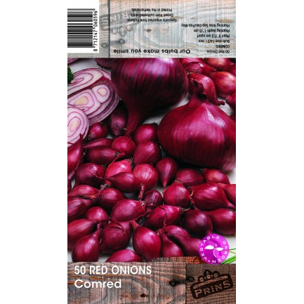 50 Red Onions Comred