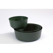 Bulb Bowl Dark Green 21cm