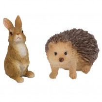 Hedgehog & Rabbit