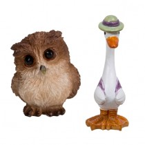 Jemima Duck and Owl