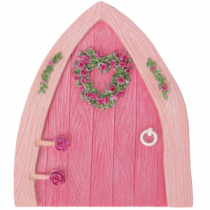 Pink Fairy Boathouse Door