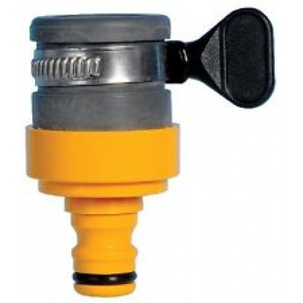 Hozelock Round Tap Connector 18mm