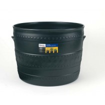 2 Pack -  35cm Patio Tub - Gun Metal