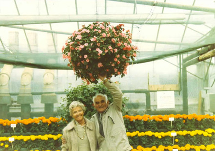 The late Gordon Rigg with his wife Jessie